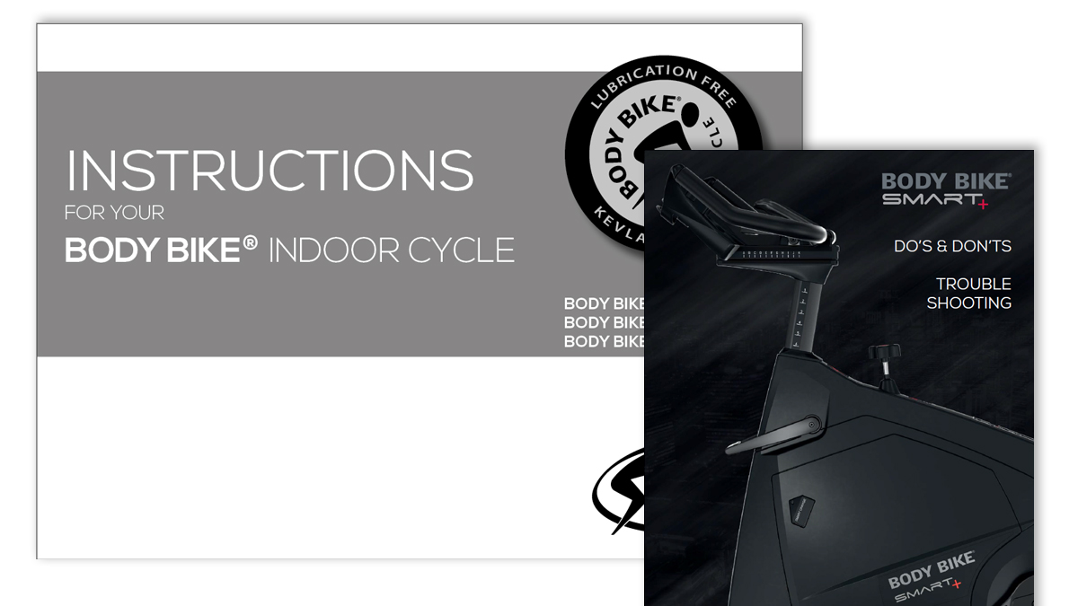 MANUALS - BODY BIKE®