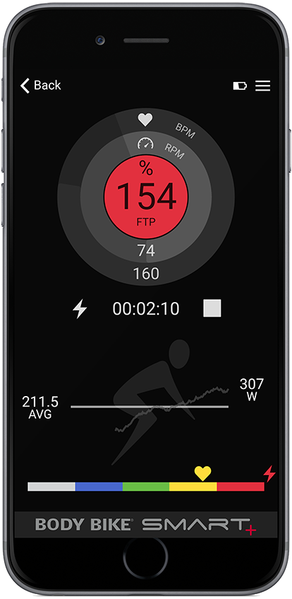 BODY BIKE® INDOOR CYCLING APP - BODY BIKE®