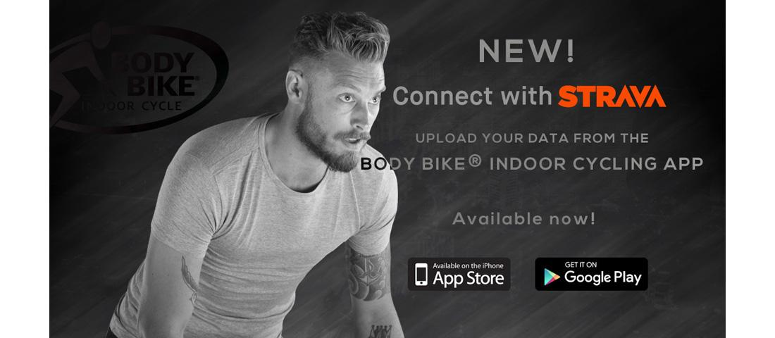 Connect with STRAVA - BODY BIKE®